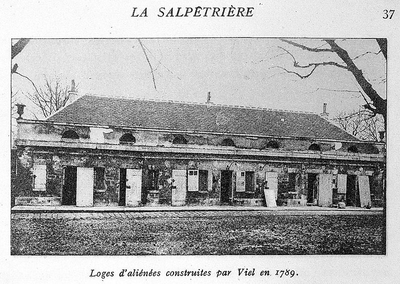 Fichier:La Salpetriere; loges d'alienes Wellcome L0014777.jpg