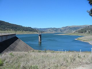 dam in New South Wales