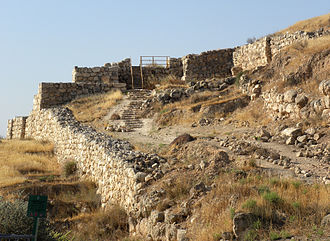 Tel Lachish - Main gate of Lachish