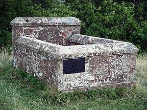 Battle of Ancrum Moor - Lilliard's Stone on Lilliard's Edge