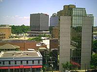 Lafayette LA July 2008 Downtown Lafayette Aerials 011.jpg