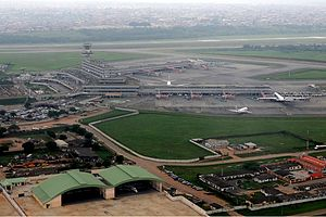 Murtala Muhammed International Airport - Image: Lagos Airport Iwelumo 5