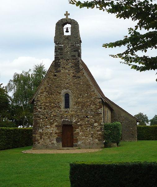 Chapelle Saint-Anne (XIe & XIIe) - Laigné-en-Belin - Sarthe (72)
