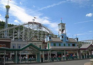 Lake Compounce - The main gate of Lake Compounce