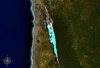 Lake Tsimanampetsotsa - from space