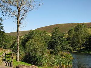 Cwmtillery - Walk by the lakes