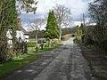 Lane past Woodside Cottages - geograph.org.uk - 740297.jpg