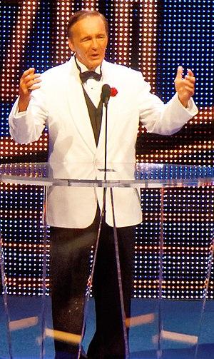 Larry Zbyszko - Zbyszko at the 2015 WWE Hall of Fame ceremony