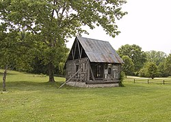 Lasource-Durand House Under a Tree in Ste Genevieve MO.jpg