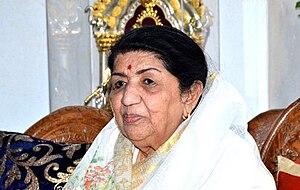 Lata Mangeshkar - Mangeshkar in 2014