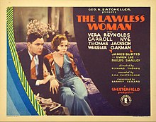 Description de l'image Lawless Woman lobby card 1931.jpg.