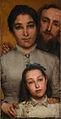 Lawrence Alma-Tadema Dalou, sa femme et sa fille en 1876.jpg