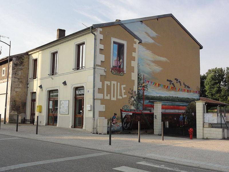 Lay-Saint-Remy (Meurthe-et-M.) école et mairie