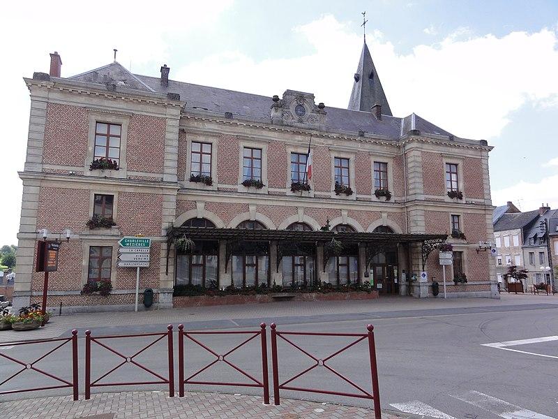 Le Nouvion-en-Thiérache (Aisne, Fr) mairie