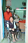Le Thi Het receives support to boost her income from sewing. (6586862271).jpg