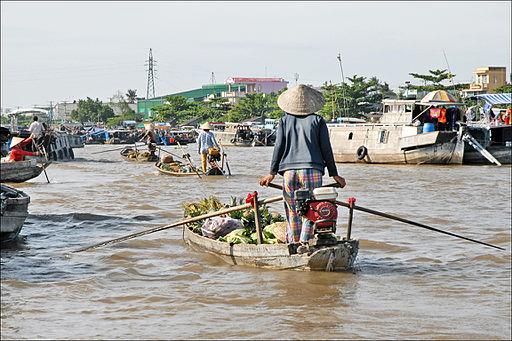 Le marché flottant (Cai Rang, Vietnam) (6642795155)