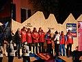 Le medaglie nella piazza dei campioni, staffetta ,FIEMME 2012 - panoramio.jpg