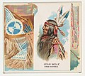 Lean Wolf, Gros Ventres, from the American Indian Chiefs series (N36) for Allen & Ginter Cigarettes MET DP838919.jpg
