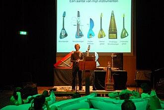 Yuri Landman - Image: Lecture at Output