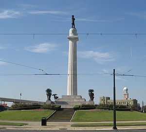 2nd Ward of New Orleans - Lee Circle at New Orleans Central Business District