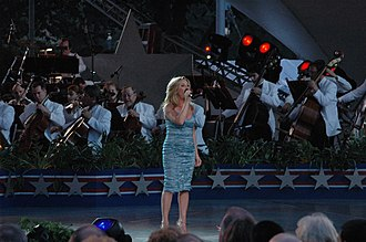 Lee Ann Womack - Womack performing live at the National Memorial Day Concert in Washington, DC, May 28, 2006