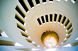 Leeum, Samsung Museum of Art -  This is the rotunda of Museum 1 which was designed by Mario Botta.