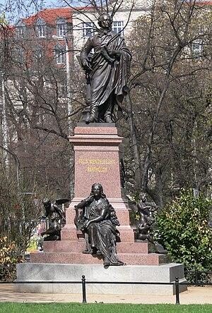 Leipzig, Mendelssohn-Denkmal