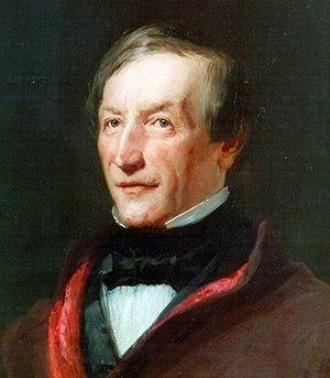 Peter Joseph Lenné - Peter Joseph Lenné, portrait by Carl Joseph Begas, about 1850
