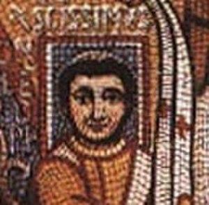 Pope Leo III - Lateran Palace mosaic c. 799