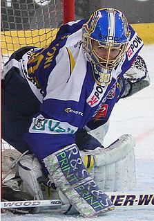 Leonardo Genoni Swiss ice hockey goaltender