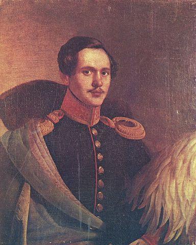 М.Ю.Лермонтов в вицмундире Лейб-гвардии Гусарского полка. Портрет П.З.Захарова-Чеченца.