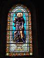 Lesperon (Landes) église, vitrail 01.JPG