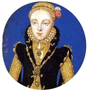 Levina Teerlinc - Portrait of Elizabeth I by Levina Teerlinc, c. 1565