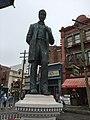 Lew R Wasserman statue Universal Florida.jpg