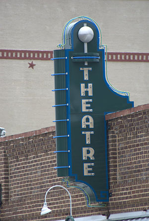 Lewisville, Texas - Image: Lewisville Theater Old Town
