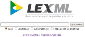 LexML Brasil - Image: Lexml portal