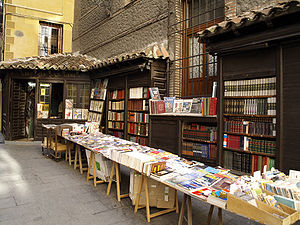 English: San Ginés bookshop in Madrid, Spain E...