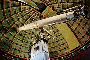 James Lick telescope - A photograph of the telescope