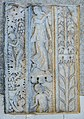 Liebenfels Zweikirchen 1 Pfarrkirche hl Johannes d T Reliefplatte mit Maenade 03032015 0169.jpg