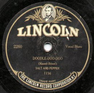 Lincoln Records - Lincoln Record by Salt & Pepper