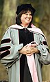 Linda Ronstadt as honorary doctor at Hardly Strictly 2009.jpg
