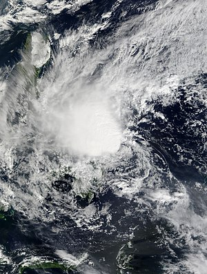 2014 Pacific typhoon season - Image: Lingling 2014 01 18 0210Z
