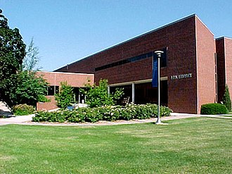 Concordia University Nebraska - The Link Library contains about 232,000 titles and offers a Web-based cataloging system. The library also provides access to the databases of other independent colleges and universities in Nebraska. Bartels Museum, in the basement of Link Library, houses 75 displays of geological interest, including fossils and minerals from around the world.