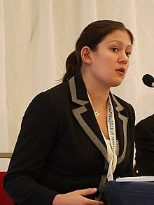 Lisa Nandy MP addressing the NCVO Acevo fringe (6192110384).jpg