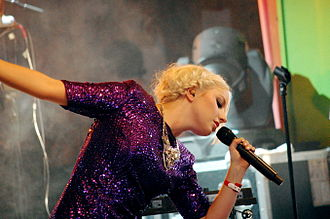 Little Boots - Little Boots performing at the Arvika Festival in 2009