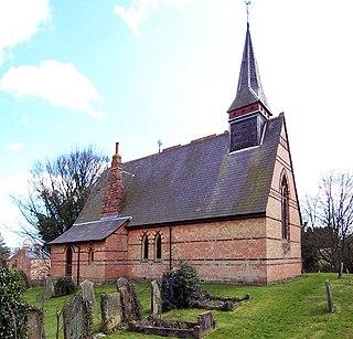 St Helens Church, Little Cawthorpe Church in Lincolnshire, England