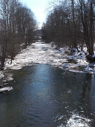 Little Fishing Creek - Little Fishing Creek looking downstream in Millville