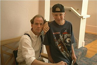 Derek Trucks - A young Trucks (right) with musician Livingston Taylor