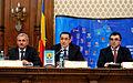 Liviu Dragnea, Victor Ponta si Marian Oprisan la Adunarea Generala a UNCJR, Palatul Parlamentului - 03.12.2013 (3) (11190443986).jpg