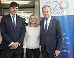 Llegada de Donald Tusk, presidente del Consejo Europeo (44285311380).jpg